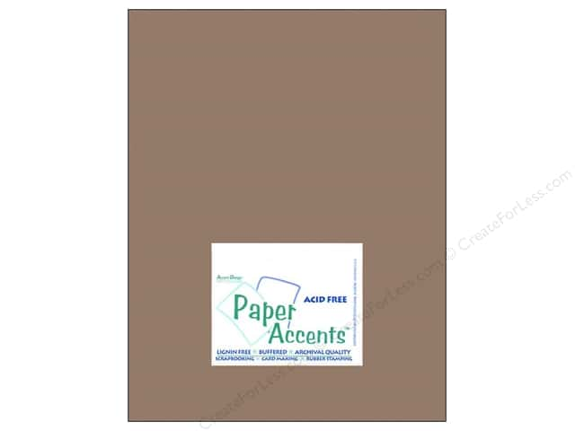 Cardstock 8 1/2 x 11 in. #8075 Muslin Dusk by Paper Accents (25 sheets)
