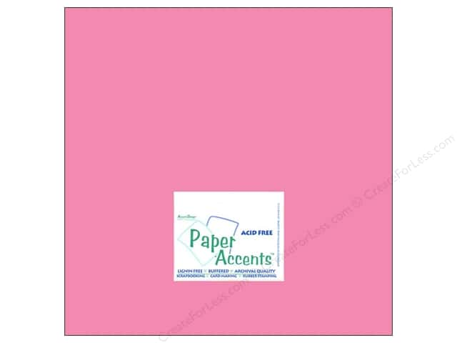 Cardstock 12 x 12 in. #8064 Muslin Chablis by Paper Accents (25 sheets)