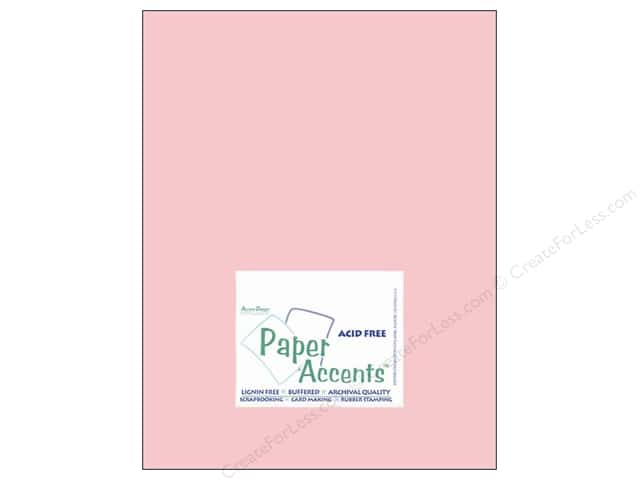 Cardstock 8 1/2 x 11 in. #8062 Muslin Blushing by Paper Accents (25 sheets)