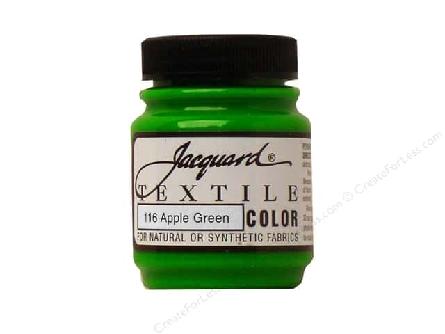Jacquard Textile Color 2.25 oz Apple Green