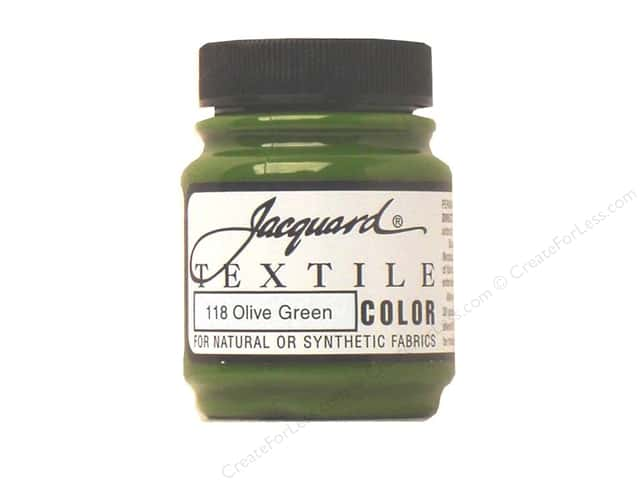Jacquard Textile Color 2.25 oz Olive Green
