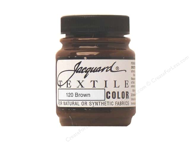 Jacquard Textile Color 2.25 oz Brown