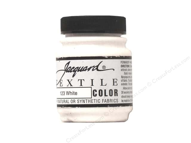 Jacquard Textile Color 2.25 oz White