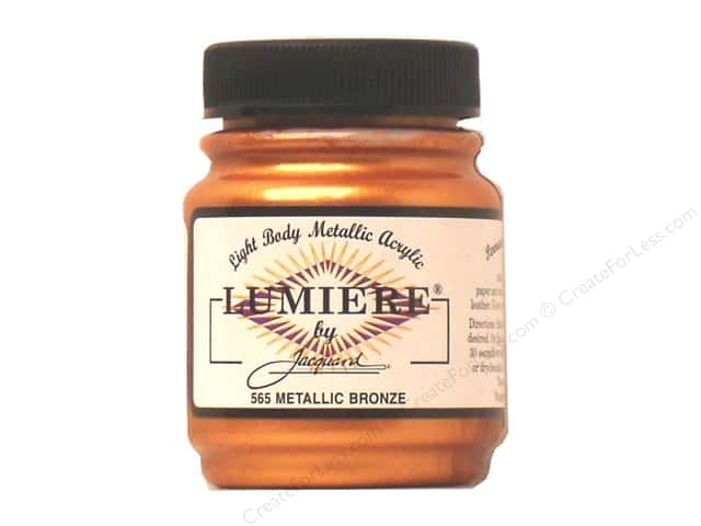 Jacquard Lumiere Paint 2.25 oz. #565 Metallic Bronze