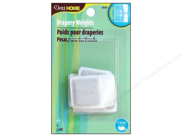 Drapery Weights by Dritz Home Covered 1 in. 4 pc.