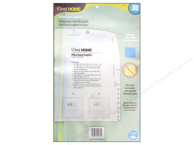 Dritz Home Pillow Corner Template