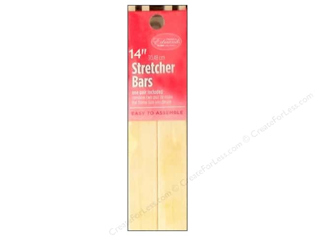 F.A.Edmunds Stretcher Bars 2pc 14""