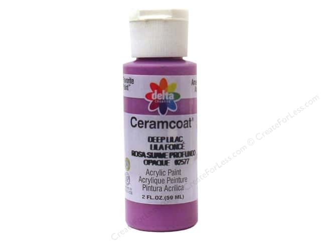 Ceramcoat Acrylic Paint by Delta 2 oz. Deep Lilac