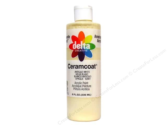 Delta Ceramcoat Acrylic 8oz Antique White