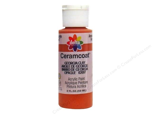 Ceramcoat Acrylic Paint by Delta 2 oz. Georgia Clay