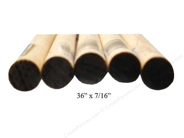 Wood Dowels 36 x 7/16 in. (25 pieces)