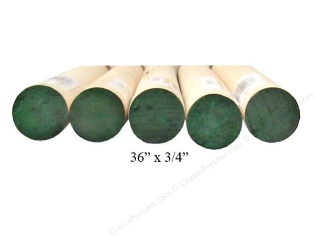 Wood Dowels 36 x 3/4 in. (10 pieces)