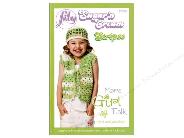 Lily Sugar'n Cream Stripes Book