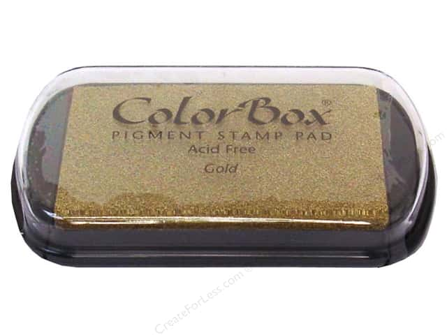 ColorBox Pigment Inkpad Full Size Metallic Gold
