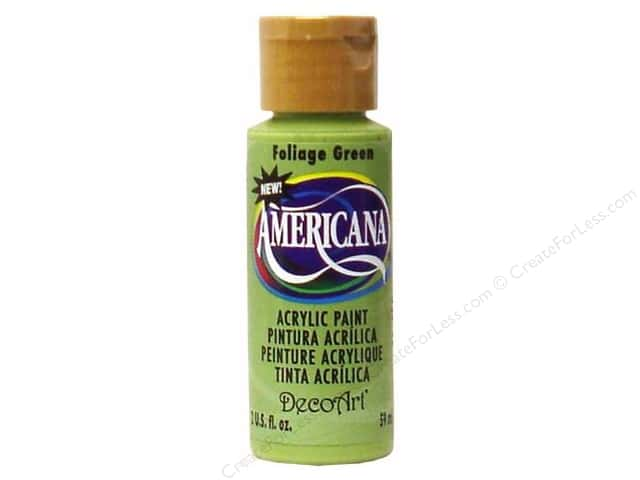 DecoArt Americana Acrylic Paint 2 oz. #269 Foliage Green