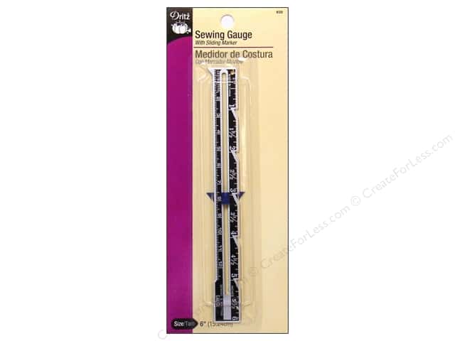 Sewing Gauge by Dritz 6 in.