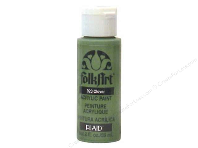 Plaid FolkArt Acrylic Paint 2oz Clover