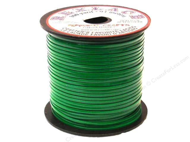 Pepperell Rexlace Craft Lace 100 yd. Kelly Green