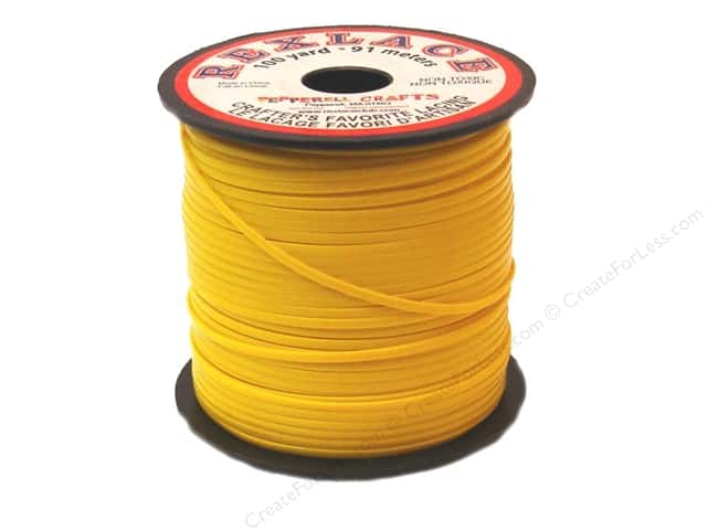 Pepperell Rexlace Craft Lace 100 yd. Goldenrod