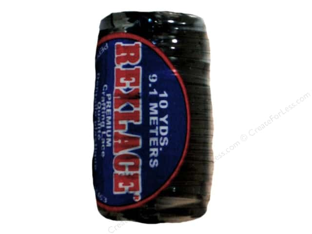 Pepperell Rexlace Craft Lace 10yd Black (3 spools)