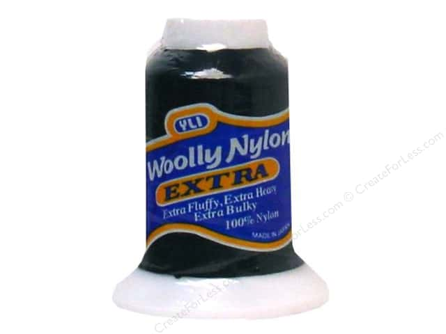 YLI Woolly Nylon Thread Extra 300M Black