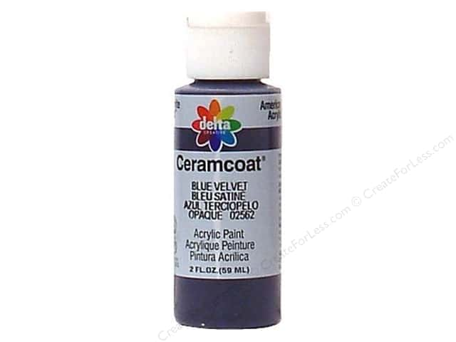 Ceramcoat Acrylic Paint by Delta 2 oz. Blue Velvet