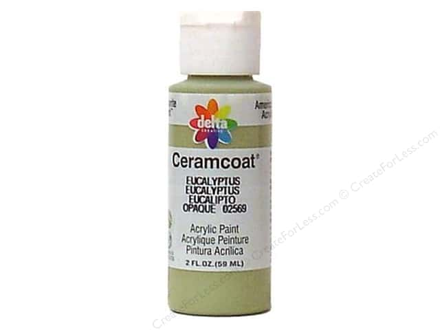 Ceramcoat Acrylic Paint by Delta 2 oz. Eucalyptus
