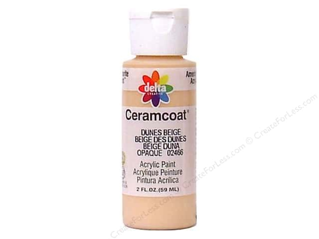 Ceramcoat Acrylic Paint by Delta 2 oz. Dunes Beige