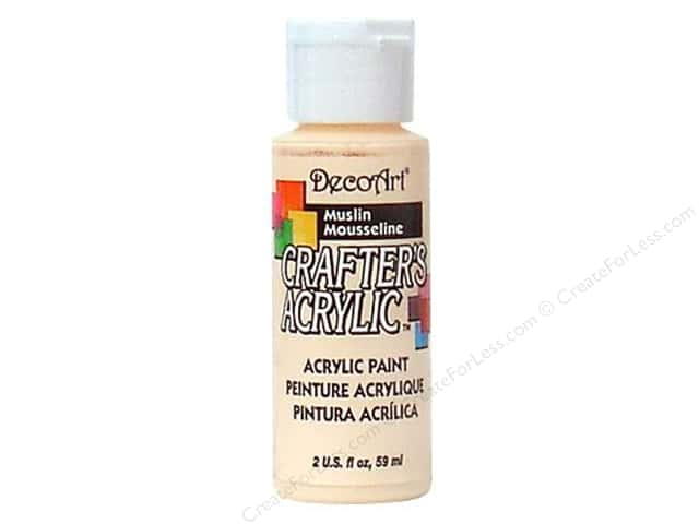 DecoArt Crafter's Acrylic Paint 2 oz. #50 Muslin