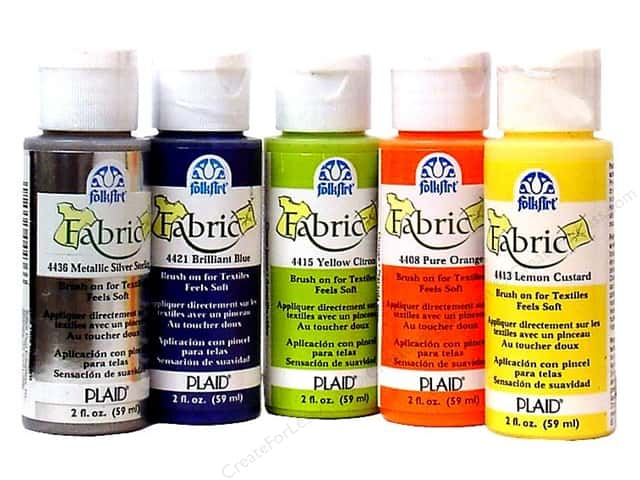 Plaid FolkArt Fabric Paint 2oz