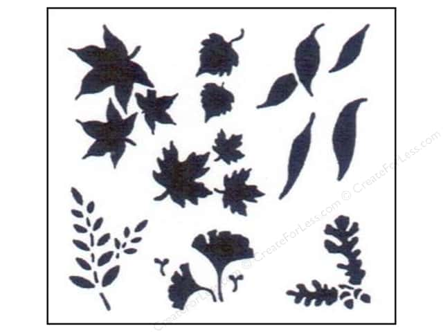 StenSource Painting Stencil Mini Leaves