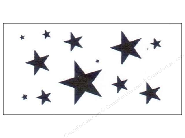 StenSource Painting Stencil Star Assorted