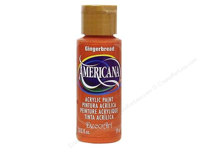 DecoArt Americana Acrylic 2oz Gingerbread