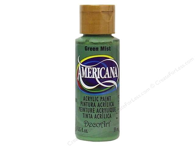 DecoArt Americana Acrylic Paint 2 oz. #177 Green Mist