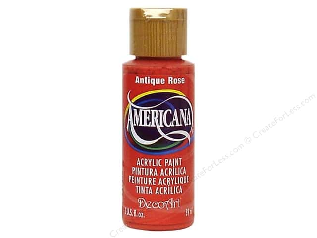 DecoArt Americana Acrylic 2oz Antique Rose