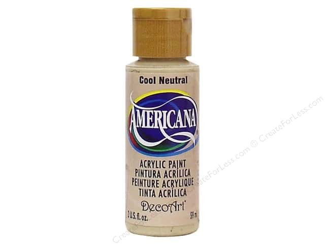 DecoArt Americana Acrylic Paint 2 oz. #089 Cool Neutral