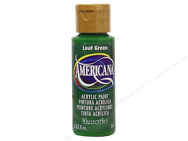 DecoArt Americana Acrylic Paint 2 oz. #051 Leaf Green