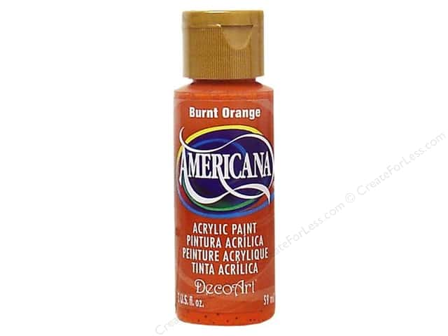 DecoArt Americana Acrylic 2oz Burnt Orange