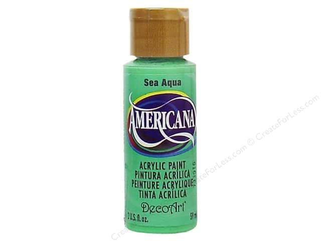 DecoArt Americana Acrylic Paint 2 oz. #046 Sea Aqua