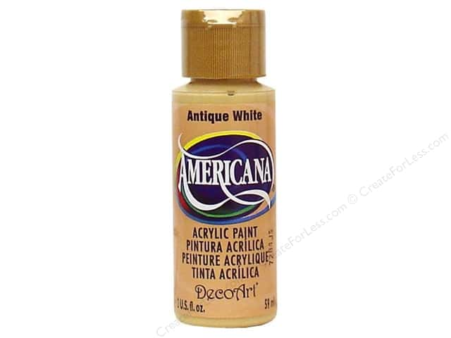 DecoArt Americana Acrylic 2oz Antique White