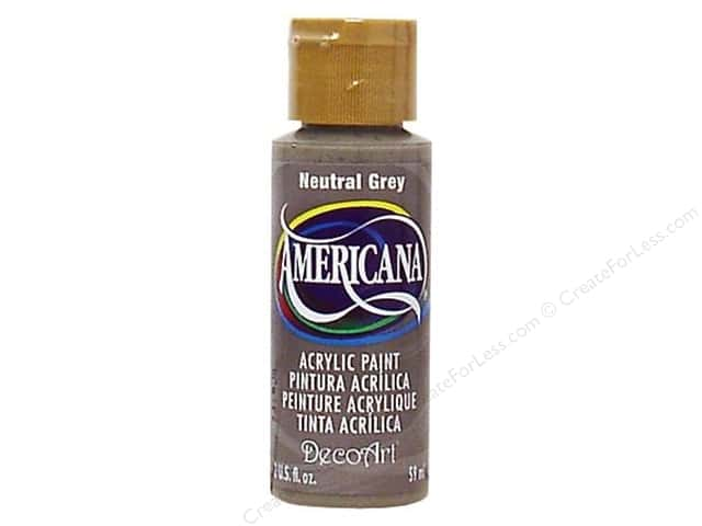 DecoArt Americana Acrylic Paint 2 oz. #095 Neutral Grey