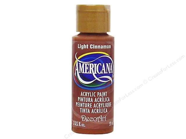 DecoArt Americana Acrylic Paint 2 oz. #114 Light Cinnamon