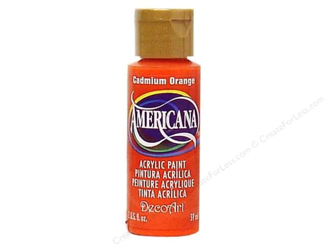 DecoArt Americana Acrylic 2oz Cadmium Orange