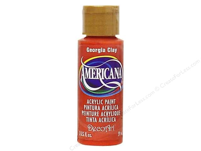 DecoArt Americana Acrylic Paint 2 oz. #017 Georgia Clay