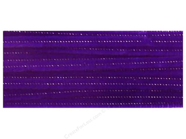Chenille Stems by Accents Design 6 mm x 12 in. Purple 25 pc. (3 packages)