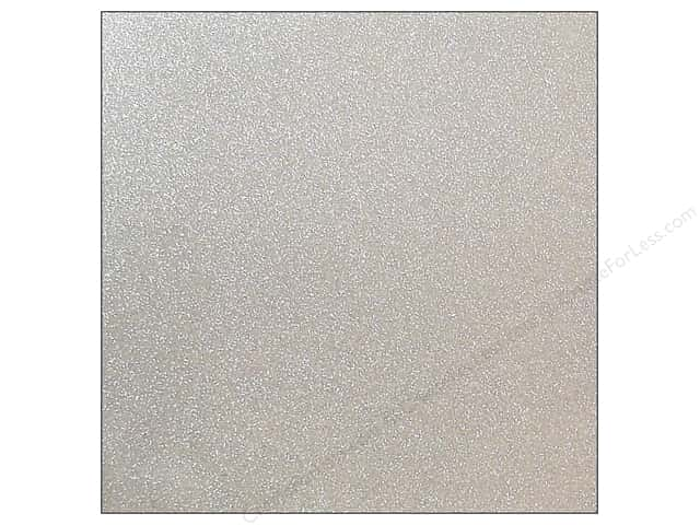 "DieCuts Cardstock 12""x 12"" 25 pc Glitter Silver (25 sheets)"