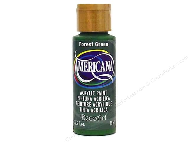 DecoArt Americana Acrylic Paint 2 oz. #050 Forest Green