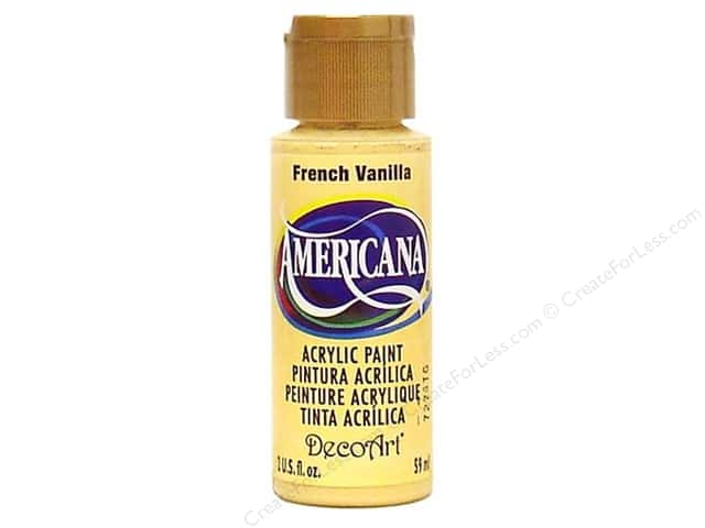 DecoArt Americana Acrylic Paint 2 oz. #184 French Vanilla