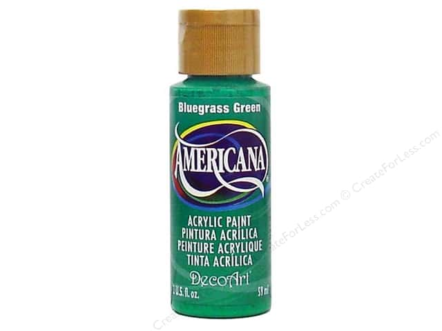 DecoArt Americana Acrylic 2oz Bluegrass Green