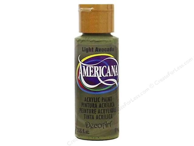 DecoArt Americana Acrylic Paint 2 oz. #106 Light Avocado